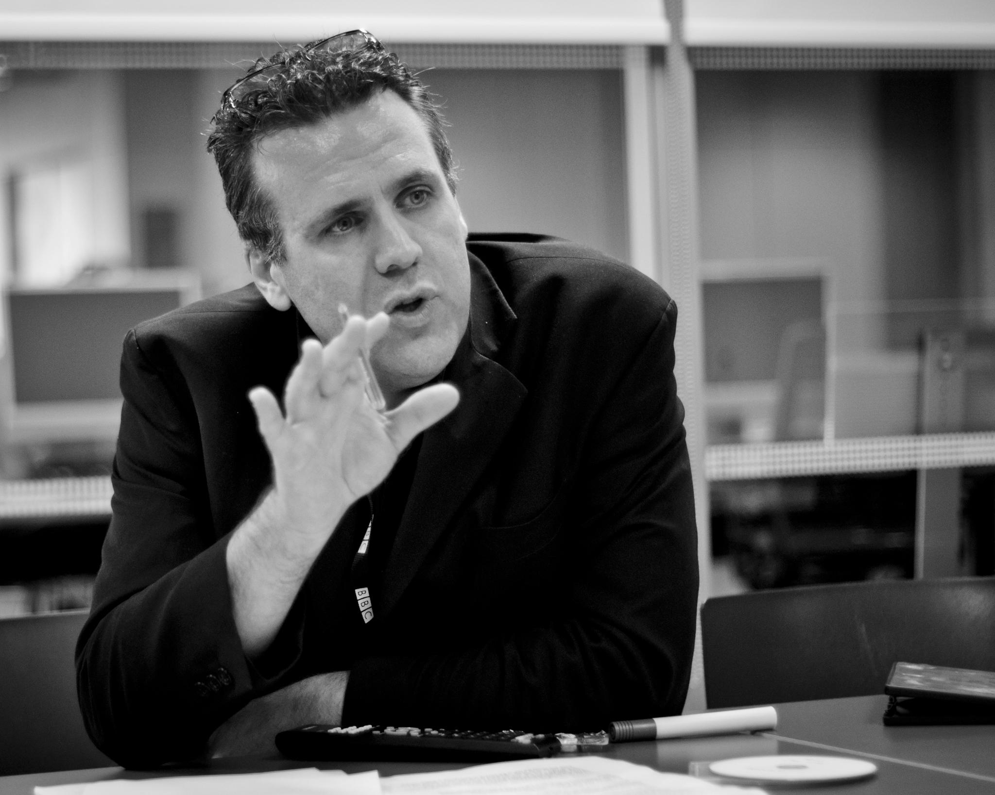 Sergio Casci at FilmG Workshop